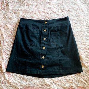 ✨ Button Down Miniskirt